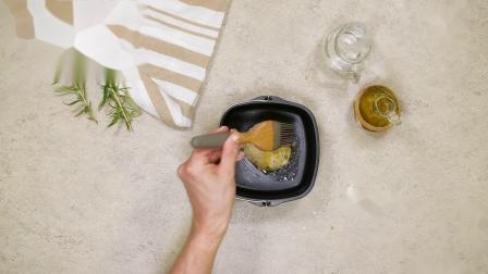 空气炸锅怎么用?教你用飞利浦空气炸锅做迷迭香绿橄榄意式面包佛卡夏~