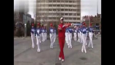 813齐齐哈尔市新合社区神鹤起飞健身操