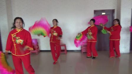 五兴新兴秧歌队三八节汇演.MTS吉林省桦甸市常山镇五兴村九家子舞蹈队
