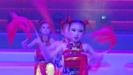 """第七届陕西省""""最美童年""""舞蹈大赛《盛世欢腾》---合阳县鹏雅艺术学"""