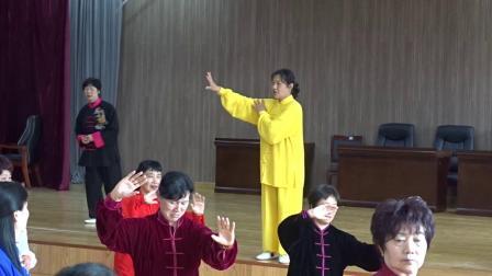 江阴市42式太极拳教练培训班第8集
