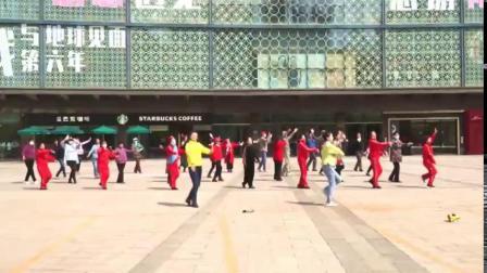 张店区广场舞协会 《美丽中国唱起来》广场培训 第二场 银泰城 《培训成果展示》 20210413