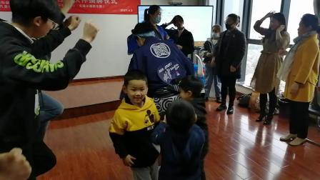 教的认真~学的认真!日语学员们体验阿波舞!无锡日语培训学校-吉川,中日国际班-明日叶