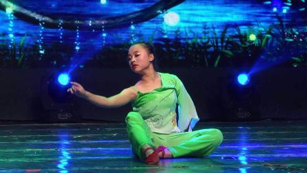 《水乡静音》表演者  段梦月  资中王云舞蹈艺术培训学校2016年海外桃李杯第六届国际舞蹈大赛成都赛区参赛作品