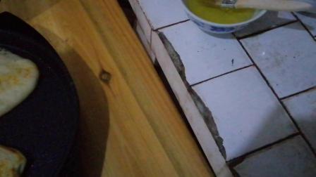 烙油酥烧饼和千层饼