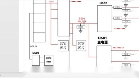 兰德手机维修培训学校 小米6开机原理框图