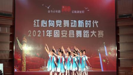 廊坊固安王辉文化艺术培训学校《学习雷锋好榜样》~参加固安县2021年建党100周年舞蹈大赛
