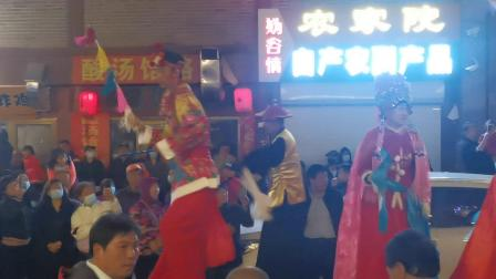 永宁古城西关高跷五一公演02