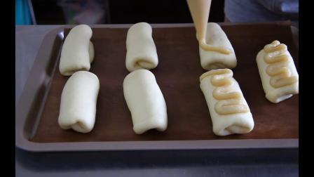 夏季冰奶油雪山面包