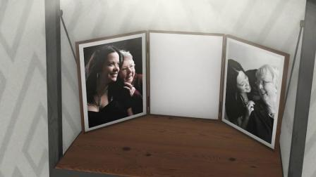 AE模板 母亲节快乐3D照片肖像暖心回忆幻灯 Happy Mothers Day