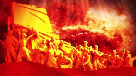 建党100年歌曲《在灿烂的阳光下》舞台视频