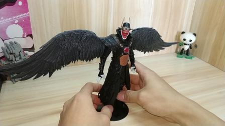 【暗黑之夜:金属】麦克法兰 DC多元宇宙系列 狂笑之蝠(暴君之翼)