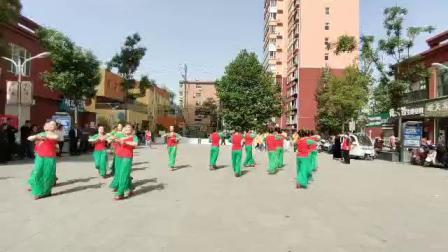 尧都区老体协表演舞蹈《人说山西好风光》(视频)