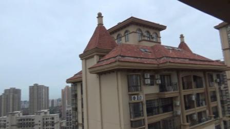 广西北海市银海区银滩大道暨银滩丽柏酒店周边风光 新建高楼林立