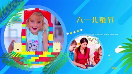 AE989 清爽夏日轻松愉快六一儿童节图文展示AE模板