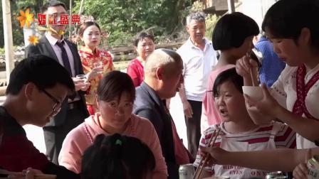 六枝特区木岗镇把士村上寨周金华与王青婚礼-3