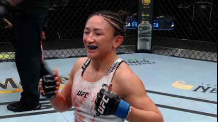 闫晓楠VS卡拉-埃斯帕扎2021年5月23日UFC拉斯维加斯27女子草量级综合格斗MMA联合主赛