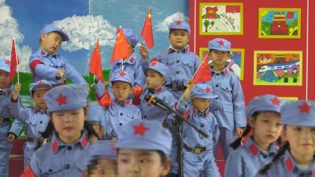 2021年新源县第一幼儿园大班组红歌比赛