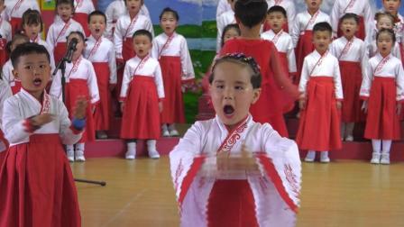 2021年新源县第一幼儿园中班组红歌比赛