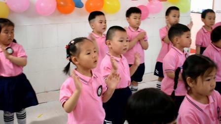 岱山社区幼儿园庆六一文艺演出 《大手牵小手》 小班