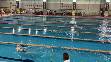 2021市中小学生游泳比赛50米蛙