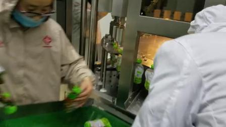 可吸果冻吸嘴自立袋灌装旋盖机  果汁饮料自立袋灌装机  袋体自动喷码自立袋灌装拧盖机