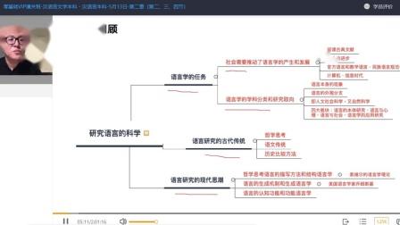 中大博睿-自考本科汉语言专业课-语言学概论第二章