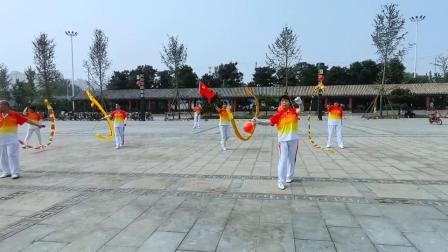 2021安国市空竹协会庆祝建党100周年会展活动