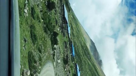 行驶在西藏来古村