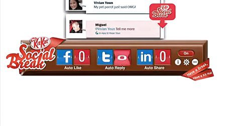 【iWebAd】KIT KAT SOCIAL BREAK