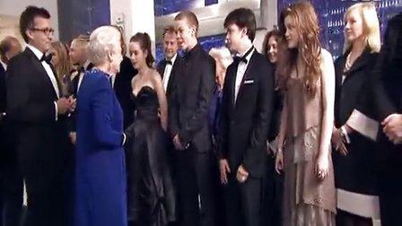 纳尼亚传奇3:黎明踏浪号 《纳尼亚传奇3》全球首映礼(二)英女王驾临