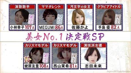 美文字No.1決定戦!イメチェンしたい美女SP - 13.01.29