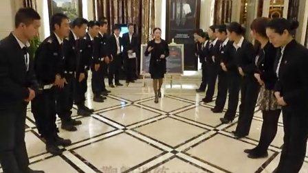 香港佳兆业房地产物业礼仪培训.