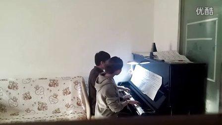 四手联弹《不能说的秘密》钢琴圣光