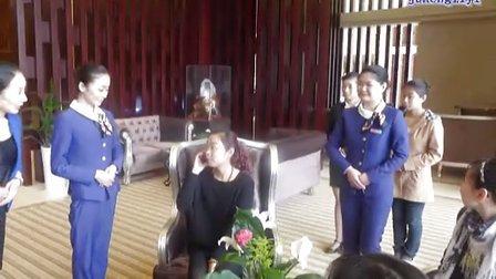 江西上饶万力时代物业礼仪培训.