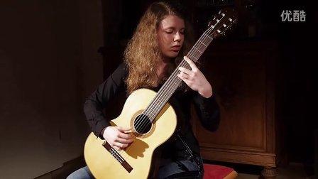 14岁少女Paulina Monno弹贝林纳第《Jongo》-Paulo Bellinati