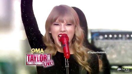 【猴姆独家】红翻天!小美女Taylor Swift激情献唱好听新单Red