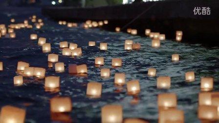 博斯普鲁斯海峡上的水灯