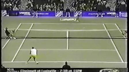 2002年 WTA年终总决赛第1轮 塞莱斯 VS 达文波特 Highlight