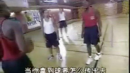 NBA篮球教学 组织后卫_运球跳投与传球