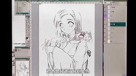 超强CG插画技法教程7—衣服的画法