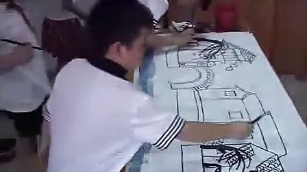 小学三年级美术优质课展示下册《风》苏少版 2010年江苏省中小学美术录像课竞赛获奖作品