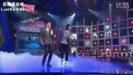 【OC】110204. MBC.7080歌手王_Shinee 温流,Key_CUT特效中字