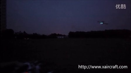 XAircraft X450Pro  GPS 夜间测试