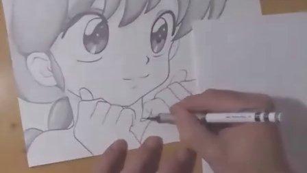 【MYGODEES手绘动漫人物系列作品】早乙女乱马女体