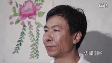 【拍客】张尚武卖艺救爷爷感动网友 亲人含泪唤其回家