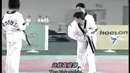【侯韧杰 TKD 教学篇】之崔永福跆拳道3