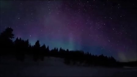 美丽神奇大自然!芬兰北极光!务必观赏!