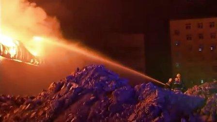 济南市公安消防支队特勤大队二中队老兵退伍纪念