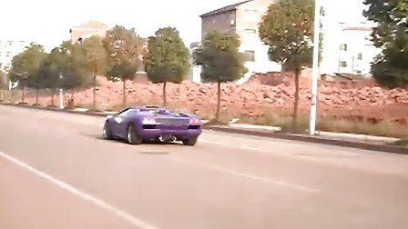 兰博基尼1999款鬼怪,国产复刻版。贴好膜出去吹吹风